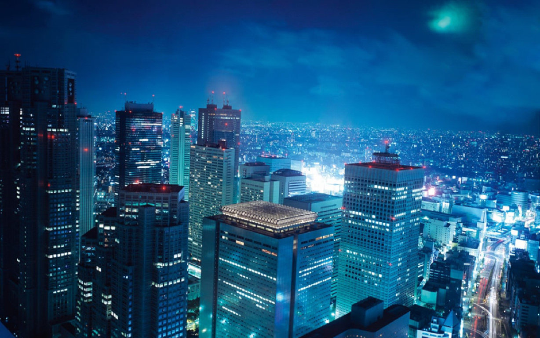 Blue Hour Over Tokyo Hd Desktop Wallpaper For 4k Ultra Hd 4k