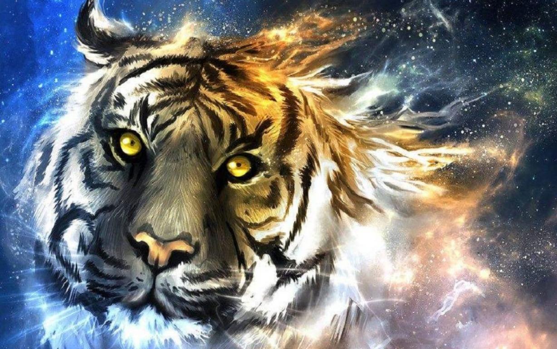 Cyborg Tiger Concept Art Wallpaper Wallpaper Studio 10 Tens Hd