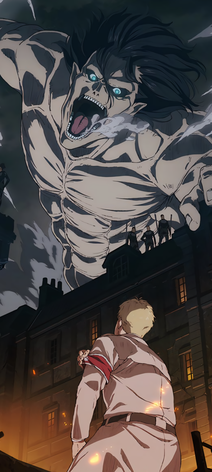 Download Eren Jaeger Shingeki Kyojin Titan Attack On No