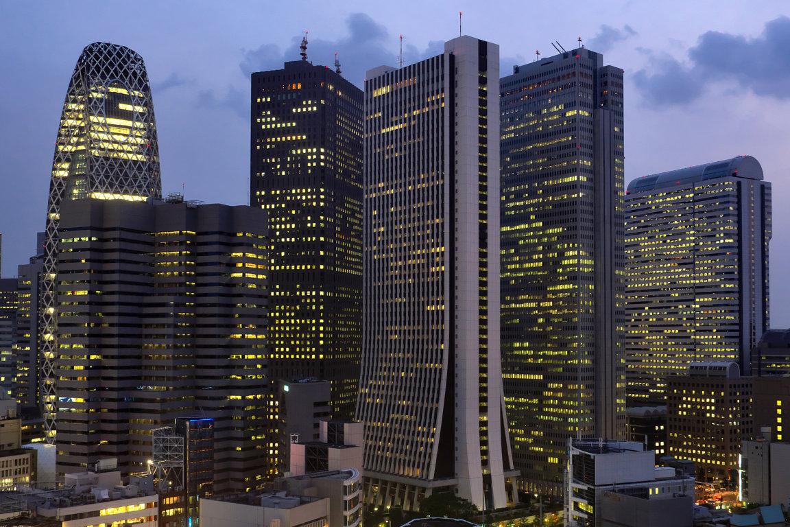 Download Wallpaper City Night Tokyo Hdr Full Hd City