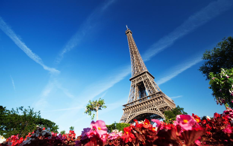 Eiffel Tower At Night France Wallpaper Paris