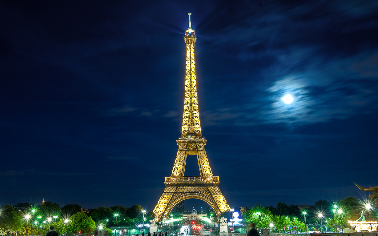 Eiffel Tower Background Mobile Wallpaper