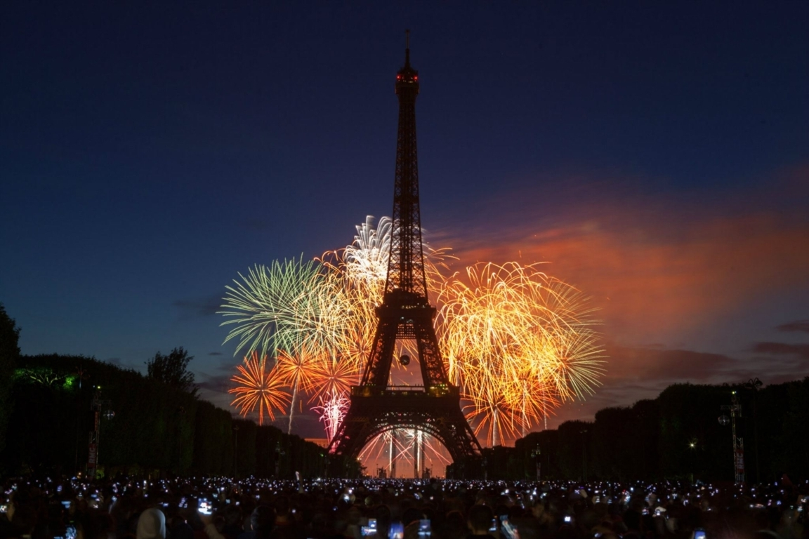 Eiffel Tower Hd Wallpaper Background And