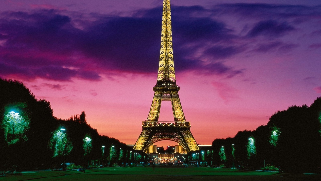 Eiffel Tower Hd Wallpaper Background Image And