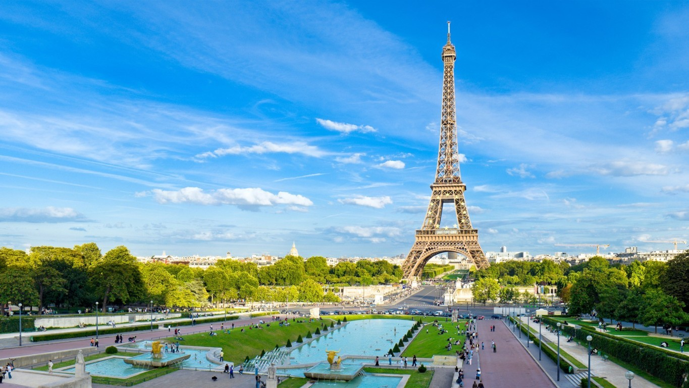 Eiffel Tower Image France Download Free Hd
