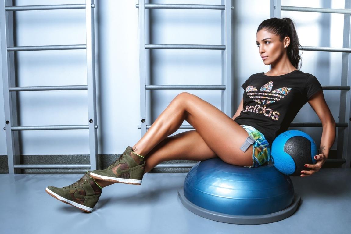 Girl Fitness 4k Hd Wallpaper For 4k Ultra Tv Tablet Desktop