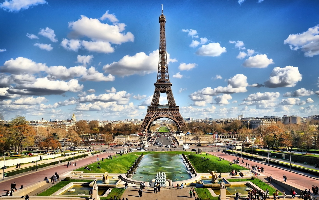 Image For Purple Eiffel Wallpaper Places To See Tower