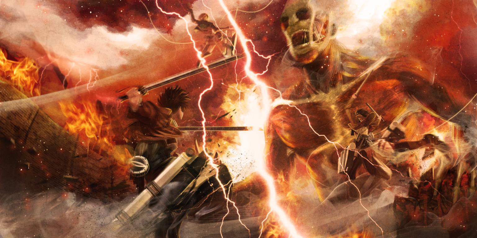 Jean Thunder Spear Attack Titan 2 1440p Resolution On