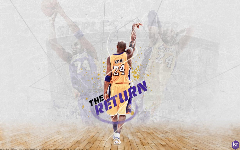 Kobe Bryant Grunge NBA Wallpaper