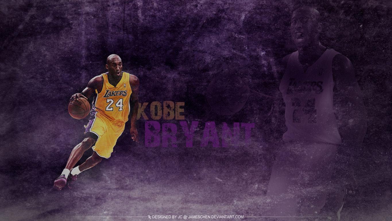 Kobe Bryant Grunge Nba Hd Wallpaper