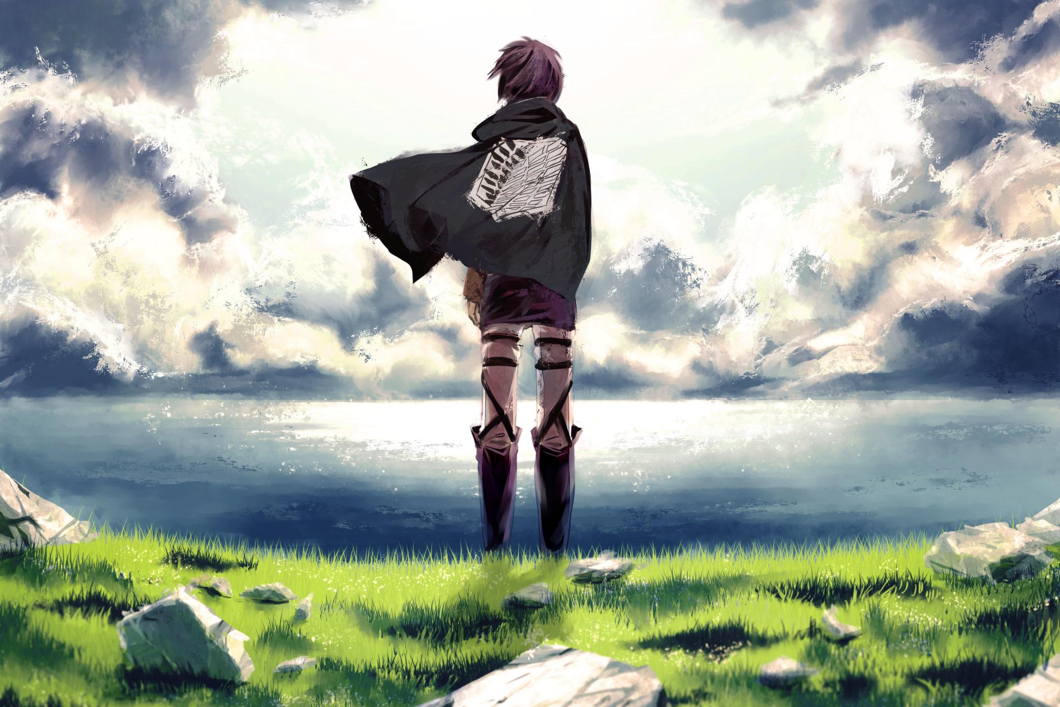 Las 40 Mejores Ilustraciones Shingeki No Kyojin Anime Manga De