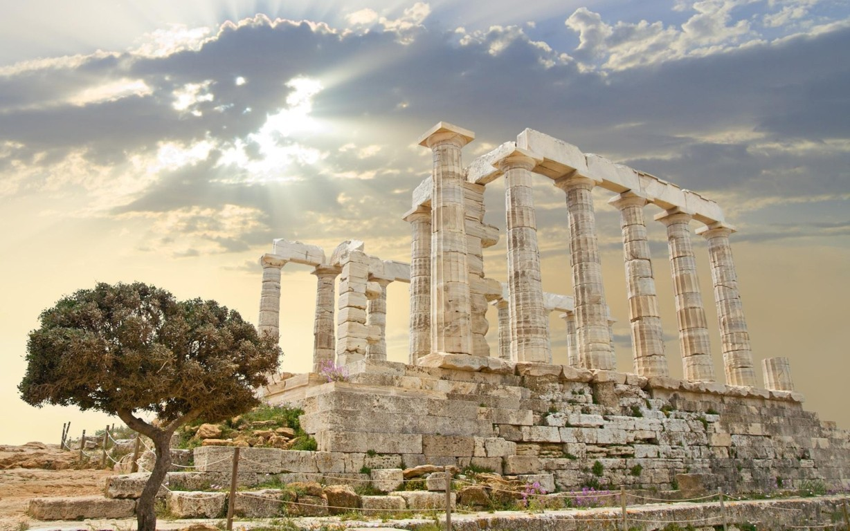 Man Made Athens Cities House Greece Architecture Wallpaper Background Image Street