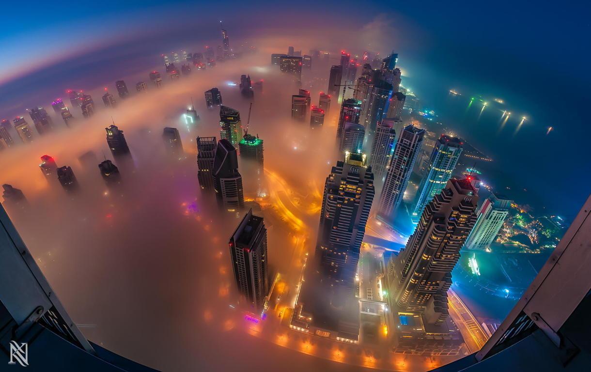 Man Made Burj Khalifa Building Skyscraper Dubai Hd Wallpaper Background Buildings