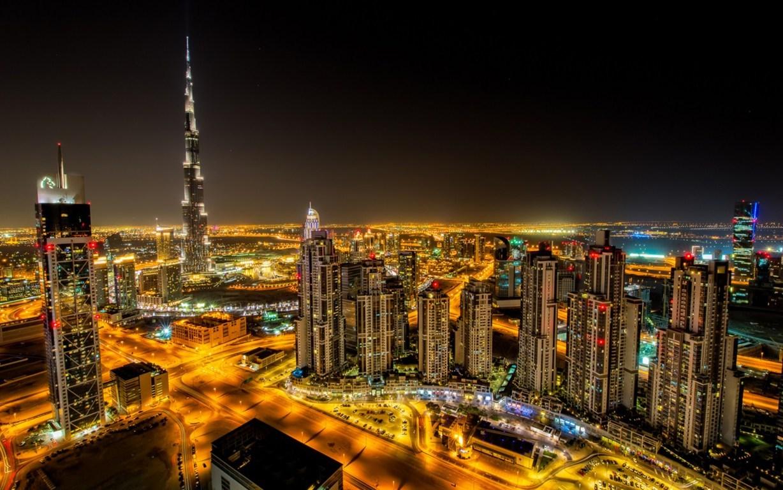 Man Made Burj Khalifa Building Skyscraper Dubai Hd Wallpaper Image Buildings