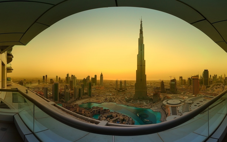 Man Made Burj Khalifa Dubai City Night Wallpaper Background Image Buildings