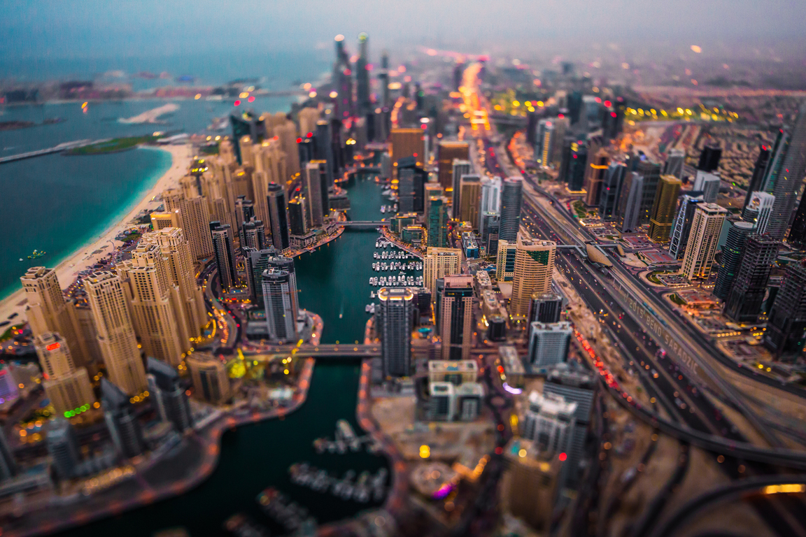 Man Made Dubai Cities Arab Emirates Burj Khalifa City Megapolis Night Hd Wallpaper Image United