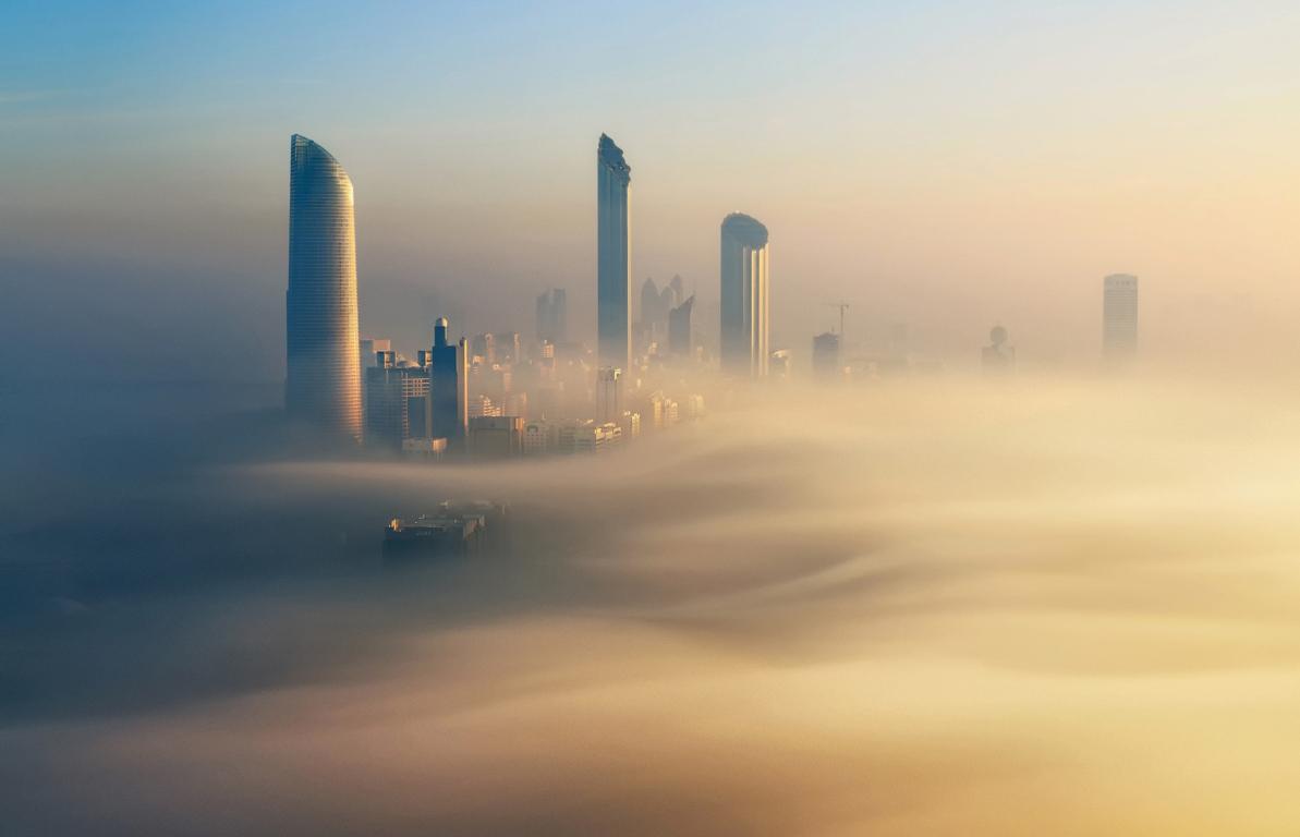 Man Made Dubai Cities Arab Emirates Burj Khalifa City Megapolis Night Wallpaper Background Image United