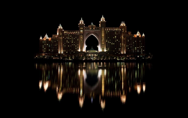 Man Made Dubai Cities Arab Emirates City Building Skyscraper Hd Background Image United