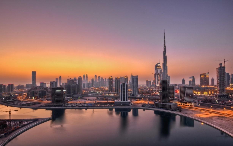 Man Made Dubai Cities Arab Emirates City Building Skyscraper Hd Wallpaper Background United