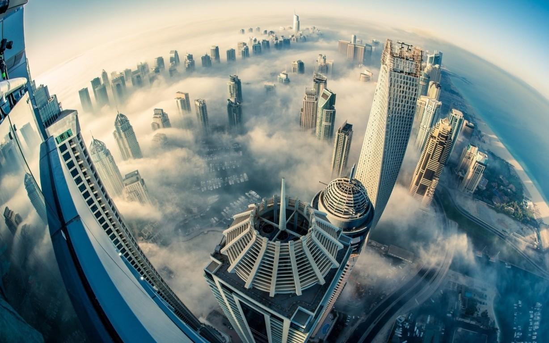 Man Made Dubai Cities Arab Emirates City Building Skyscraper Hd Wallpaper Image United