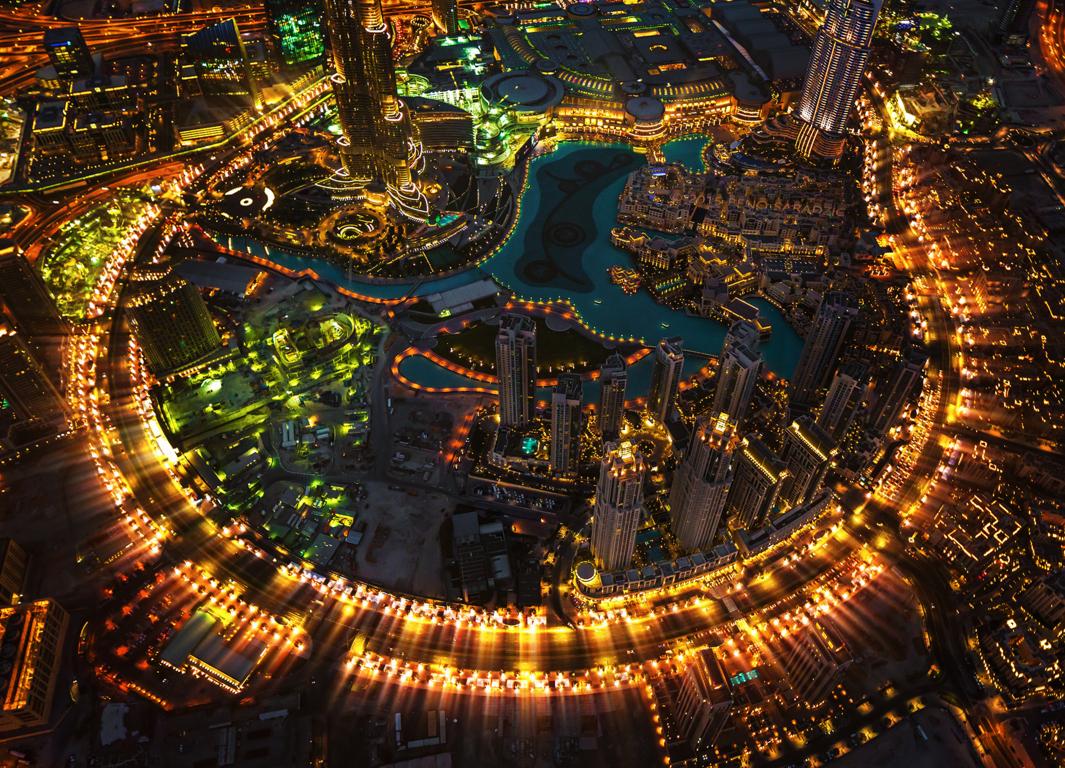 Man Made Dubai Cities Arab Emirates City Hotel Pool Skyscraper Building Wallpaper Background Image United