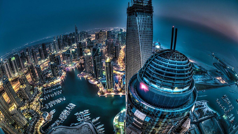 Man Made Dubai Cities Arab Emirates Man City Light Night Hd Wallpaper Background United