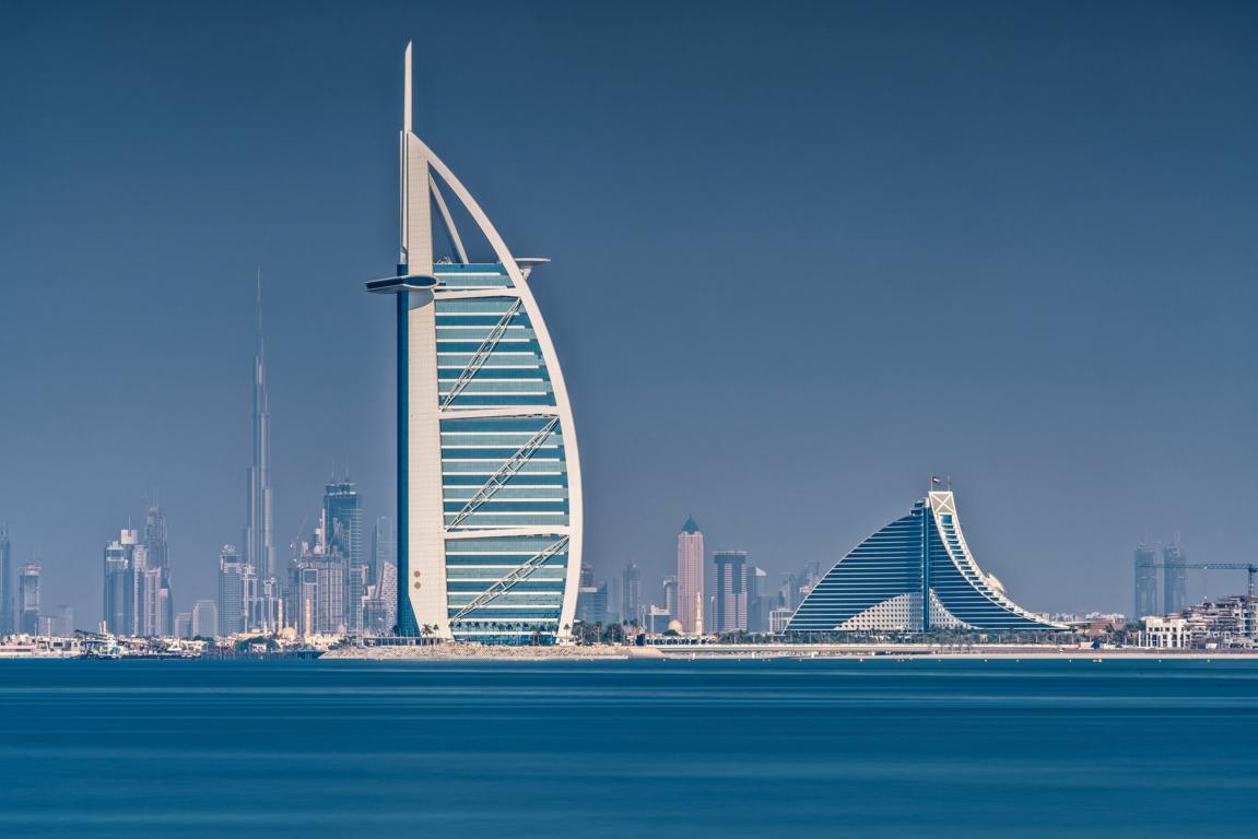 Man Made Dubai Cities Arab Emirates Man City Light Night Wallpaper Background Image United