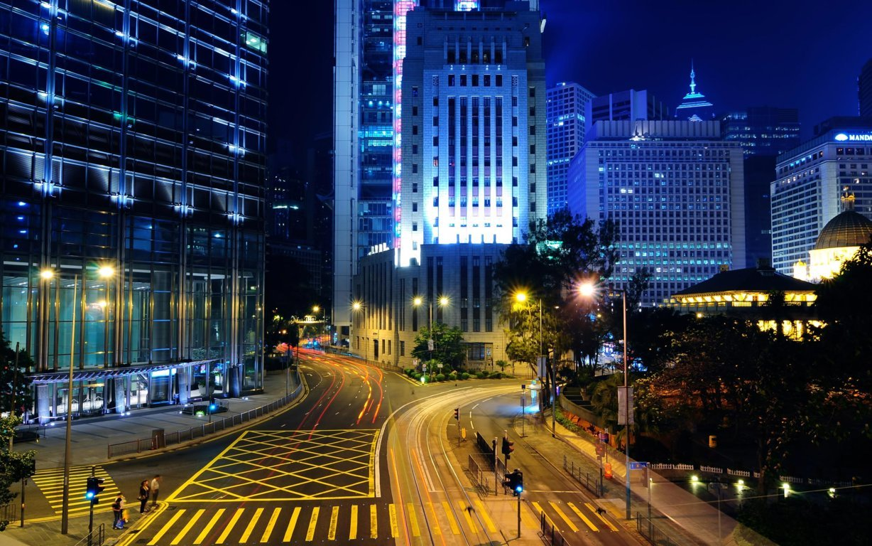 Man Made Hong Kong China Aerial Cityscape Cloud City Hd Wallpaper Image Cities