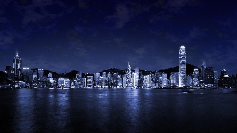 Man Made Hong Kong China Aerial Cityscape Cloud City Wallpaper Background Image Cities