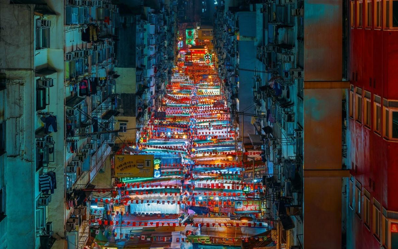Man Made Hong Kong China City Building Skyscraper Hd Wallpaper Background Cities