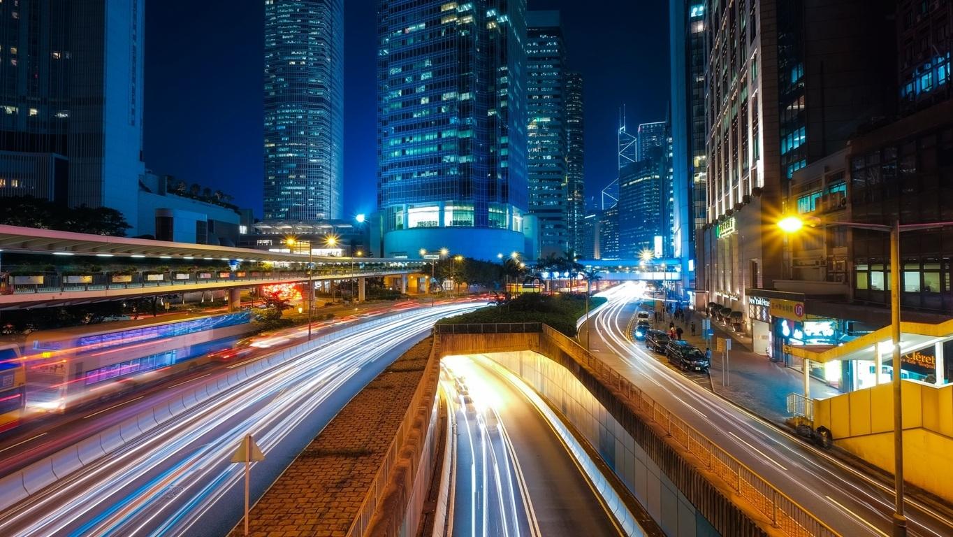 Man Made Hong Kong China City Building Skyscraper Wallpaper Background Image Cities