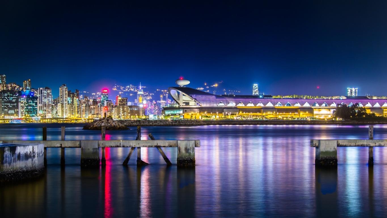 Man Made Hong Kong China Hd Background Image Cities