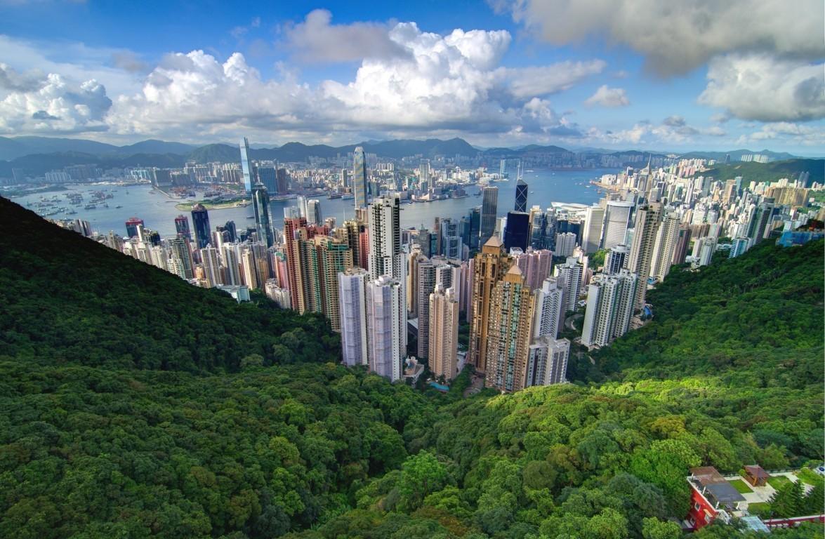 Man Made Hong Kong China Hd Wallpaper Background Cities