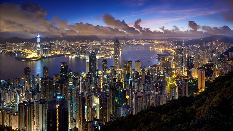 Man Made Hong Kong China Hd Wallpaper Background Image Cities