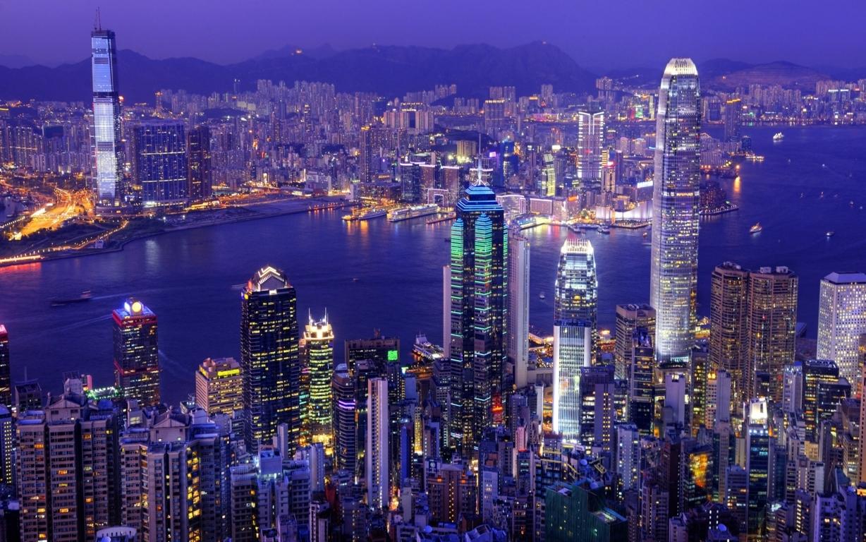 Man Made Hong Kong China Hdr Cityscape Hd Background Image Cities