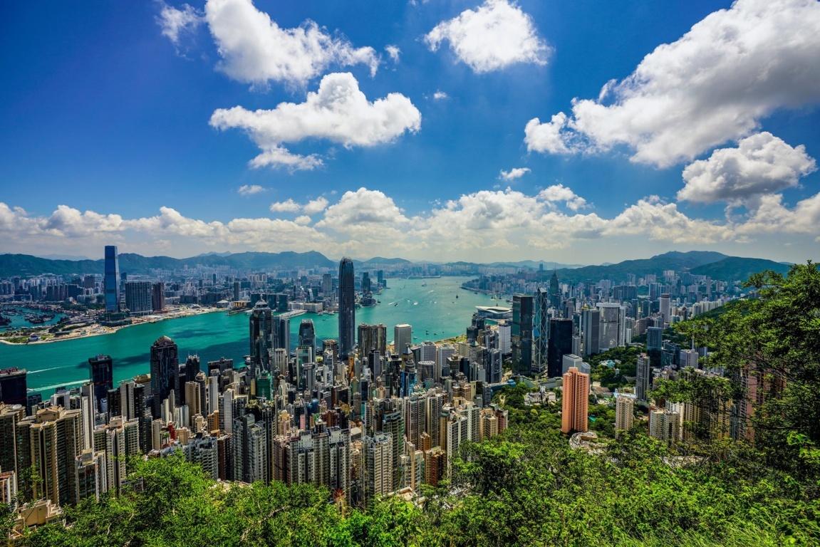 Man Made Hong Kong China Hdr Cityscape Hd Wallpaper Background Cities