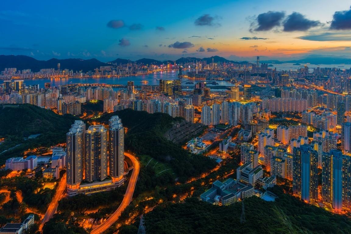 Man Made Hong Kong China Hdr Cityscape Hd Wallpaper Background Image Cities
