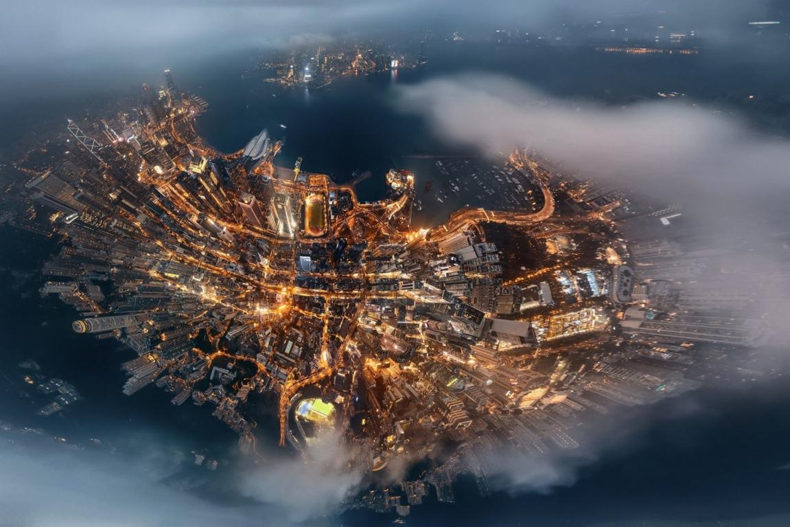 Man Made Hong Kong China Hdr Cityscape Wallpaper Background Image Cities