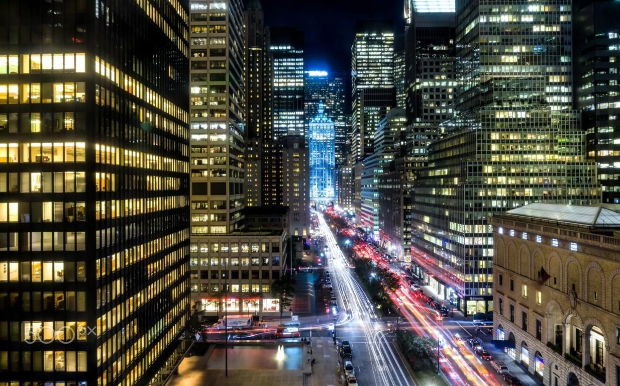 Man Made New York United States City Cityscape Building Skyscraper Fog Sunbeam Wallpaper Background Image Cities