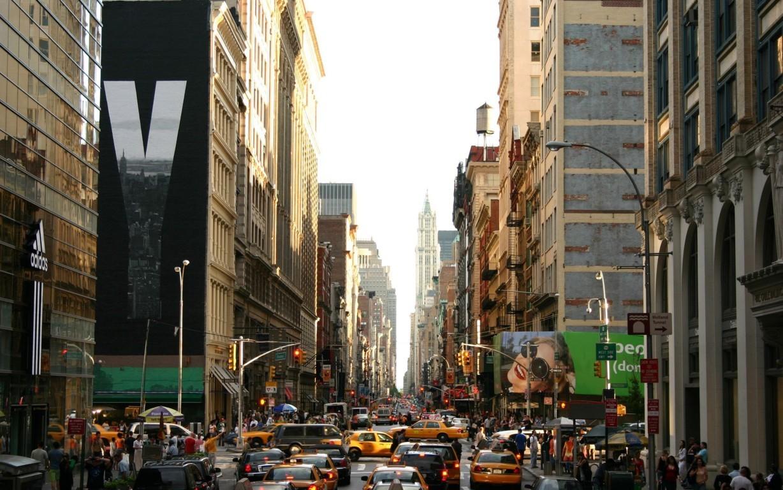 Man Made New York United States City Night Town Usa Manhattan Hd Background Image Cities