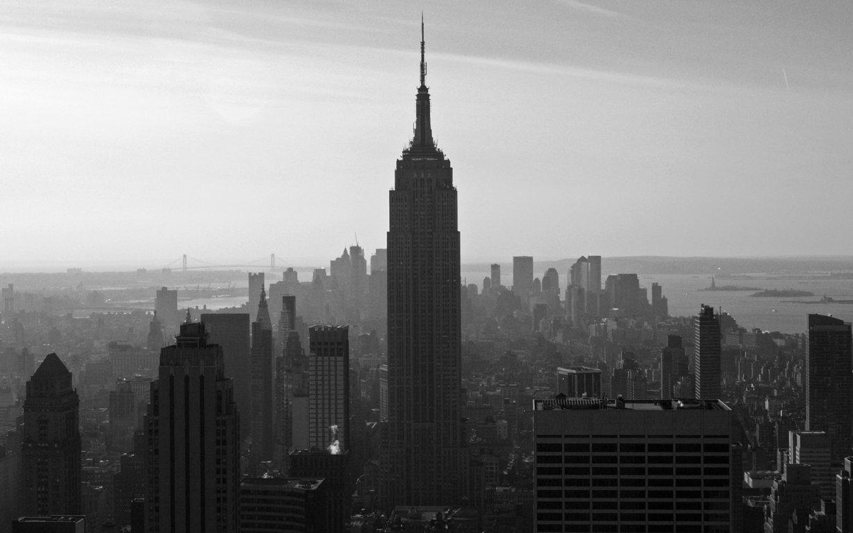 Man Made New York United States City Night Town Usa Manhattan Hd Wallpaper Background Cities