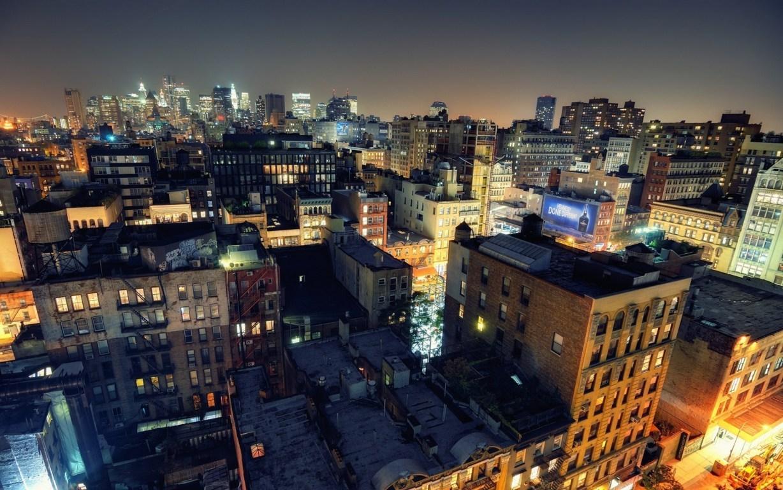 Man Made New York United States City Night Town Usa Manhattan Wallpaper Background Image Cities