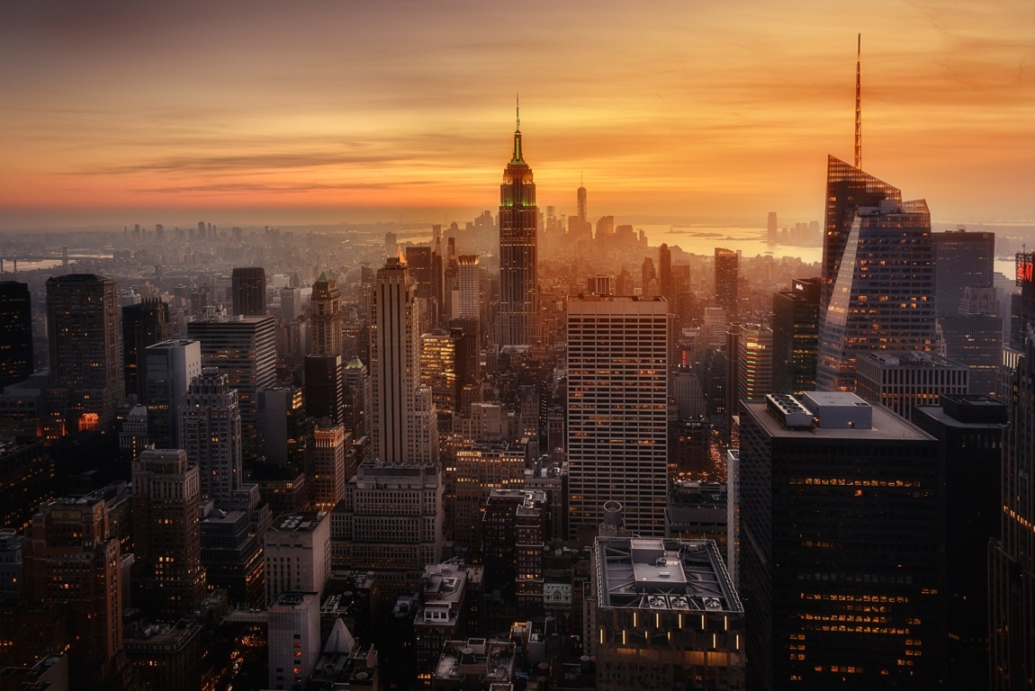 Man Made New York United States Empire State Building City Manhattan Hd Wallpaper Background Cities