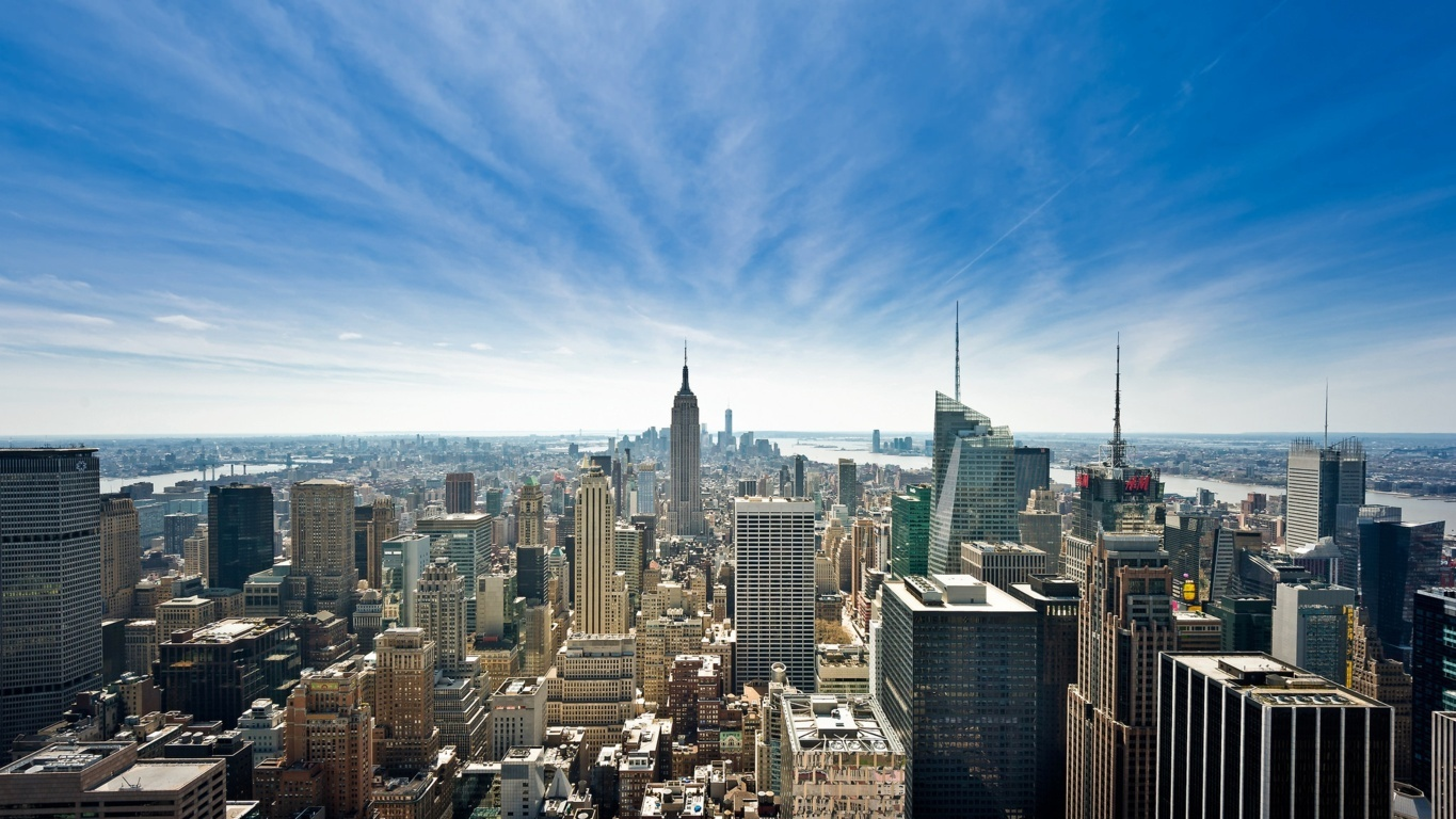 Man Made New York United States Empire State Building City Manhattan Wallpaper Background Image Cities