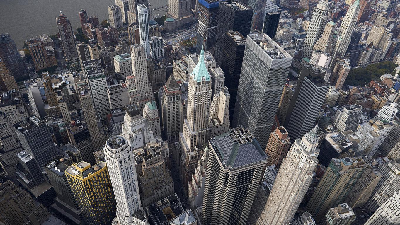 Man Made New York United States Landscape City Building Skyline Cloud Skyscraper Manhattan Hd Wallpaper Background Cities