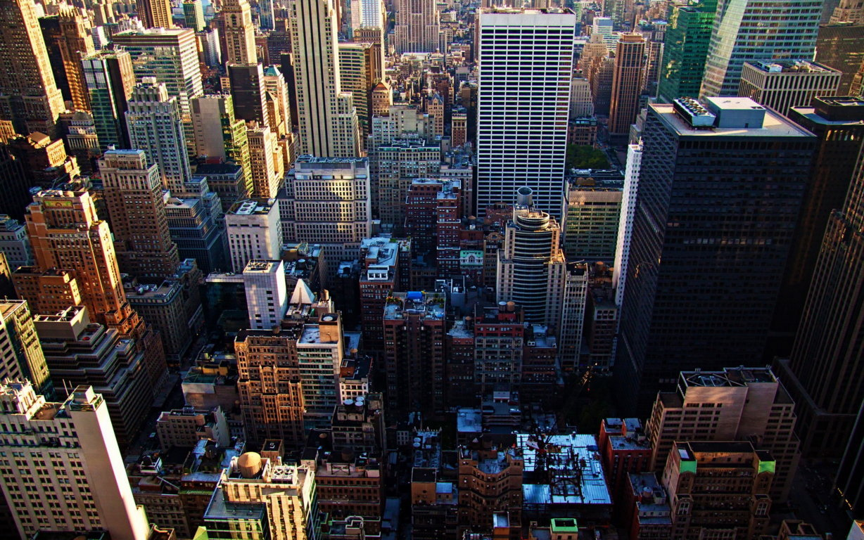 Man Made New York United States Landscape City Building Skyline Cloud Skyscraper Manhattan Hd Wallpaper Background Image Cities