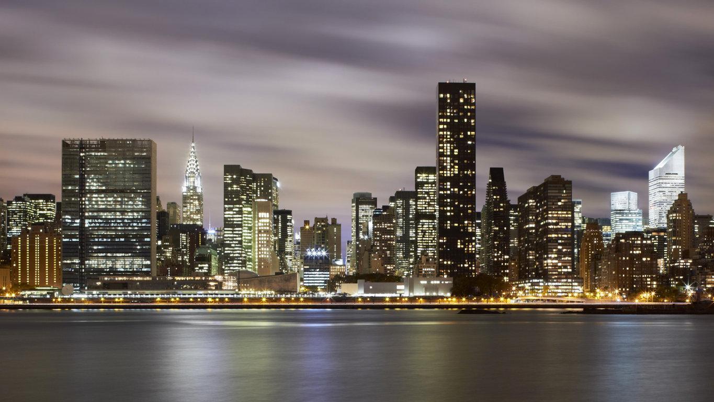 Man Made New York United States Landscape City Building Skyline Cloud Skyscraper Manhattan Hd Wallpaper Image Cities