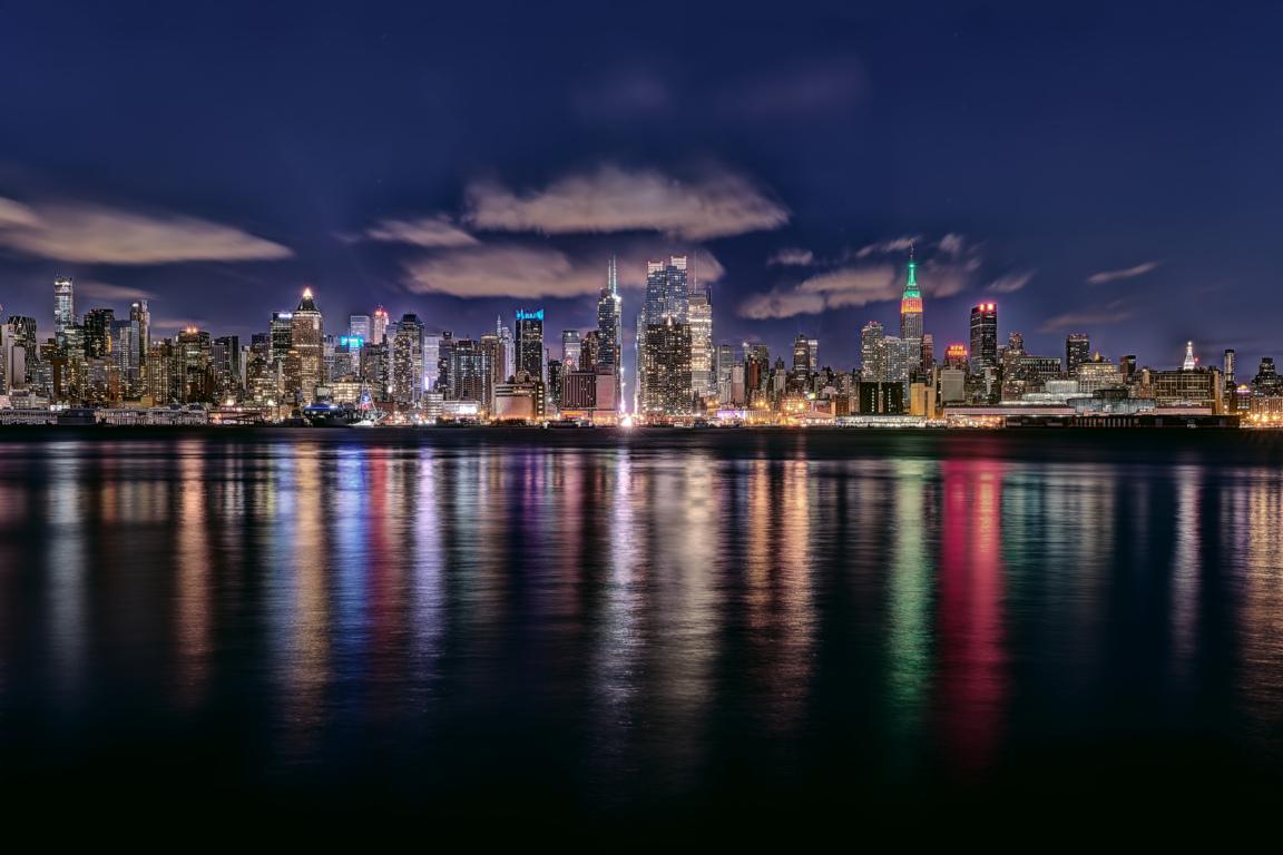 Man Made New York United States Landscape City Building Skyline Cloud Skyscraper Manhattan Wallpaper Background Image Cities