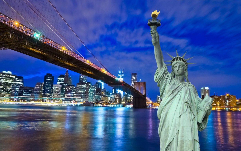 Man Made New York United States Manhattan Brooklyn Bridge Hd Wallpaper Background Cities