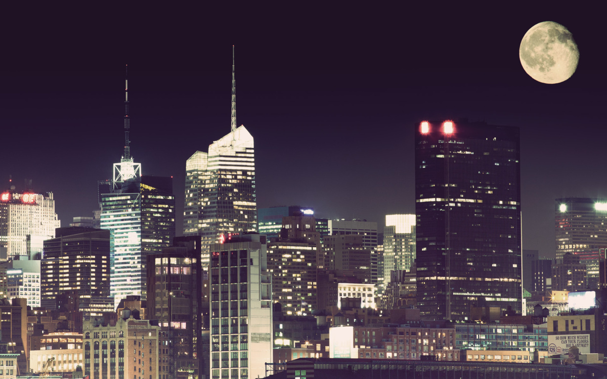 Man Made New York United States Skyscraper City Cityscape Artistic Hd Wallpaper Background Image Cities